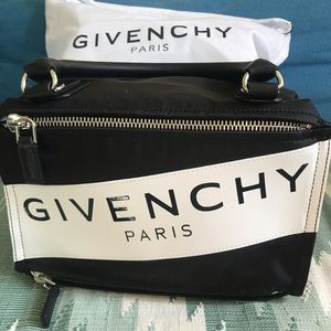 Givenchy small Pandora nylon bag